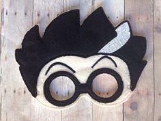 Pj Masks Romeo Handmade Mask #handmade Pj Masks Romeo Handmade Mask I had so much fun making these that I am sure y ou'll have as much fun wearing it. Little ones love to dress-up for playtime or the perfect finishing touch to a costume. Masks are fun for all ages. They make great party favors for a themed party of any kind. Color may differ a little from the pictures due to screen resolution and different felt dye lots used. Looking for more masks than what I have listed, just email..