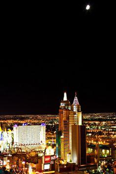 New York Las Vegas Nevada Sunset Iiistars