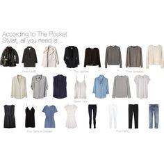 Capsule Garderobe Outfit Ideen