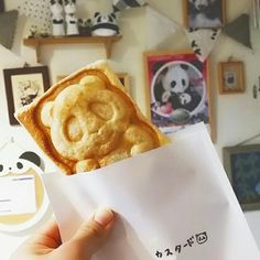 """大阪ぱんだ(パンダ専門店)OSAKAPANDAさんのツイート: """"【ぱんだパイお持ち帰りもできます🐼❤】 最近はパンダ焼き以外のメニューをこちらで召し上がって、翌日の朝ごはんやオヤツのためや、お子さまにお土産に~♪って、パンダ焼きを買って帰ってくださるお客様が増えてきて、嬉しいです😊 冷やしておいたら、朝ひんやりおいしいですよ~🐼🌄… https://t.co/4a01hA0uHq"""""""