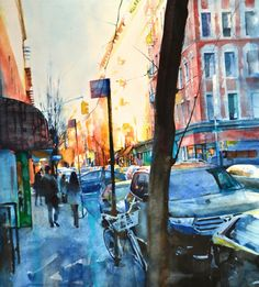 """Christopher St. Leger -  130827 2013 watercolor/acrylic ink on paper 38x33"""""""