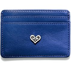 B Wishes Card Case, Blue