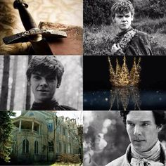 Dream cast the false prince. Thomas Brodie sangster - jaron/Sage Benedict Cumberbatch - Bevin Connor