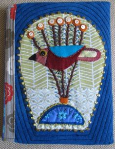 Sue's blog is an embellishment course.