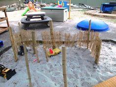 """Sand area at Karana Early Education Centre ("""",)"""