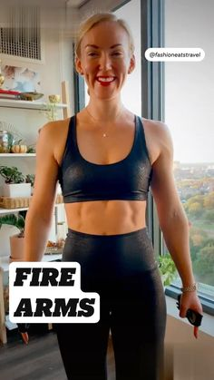 Gym Workout Videos, Gym Workout For Beginners, Fitness Workout For Women, Fitness Diet, Yoga Fitness, Wall Workout, Arm Workouts, Senior Fitness, Fitness Goals