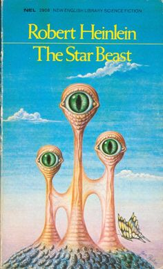 JAN PARKER - The Star Beast by Robert A. Heinlein - 1971 New English Library Books