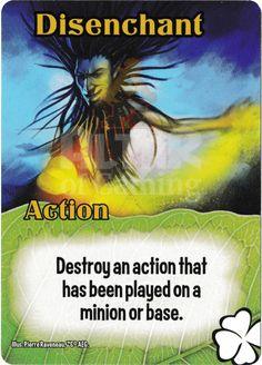 Disenchant - Tricksters - Smash Up Card | Altar of Gaming