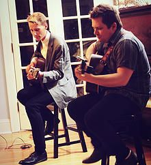 Tom Brosseau and Sean Watkins.