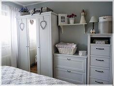 Ikea Bedroom Design, Shabby Chic Bedrooms, Dream Bedroom, New Room, Decoration, Shelving, Locker Storage, Living Spaces, Sweet Home