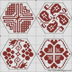 "Things dear to the heart: Cross Stitch: ""Quaker ball"" (Quaker Ball) Biscornu Cross Stitch, Cross Stitch Charts, Cross Stitch Designs, Cross Stitch Embroidery, Embroidery Patterns, Hand Embroidery, Cross Stitch Patterns, Cross Stitch Freebies, Blackwork"