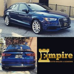 Congratulations Dear Jizet & Aren on your Brand New Audi A3. Enjoy your beautiful car and welcome to the Empire Auto Family.  #empireauto #new #car #lease #purchase #finance #refinance #newcarlease #newcarfinance #leasingcompany #customerservice #GlenoaksBlvd #glendale #brokerage #autobrokersales #autobroker #autobrokers #wholesaler #freeoilchange #freemaintanance #2016audia3
