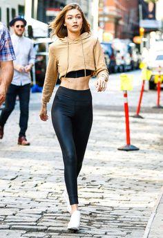 12 fois où Gigi Hadid a prouvé qu'elle était la plus stylée pour aller au sport | Glamour