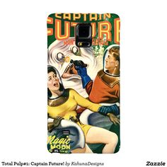Total Pulp#1: Captain Future! Galaxy Note 4 Case