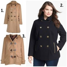 4a3383fed2e Your Fall Plus Size Coats Fit and Style Guide.