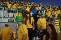 Brazil fans leaving game. #Brazil #Brasileiro #CBF #Paulista #Carioca #Sp #rj #VivaBrasil #Brasil #WorldCup #WorldCup2014 #Brazil2014 #Fifa