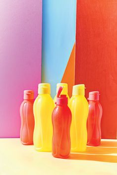 Pop open your Eco Water Bottle and stay hydrated throughout the day! #Tupperware