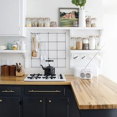 There are things you can do in every room of your home to give it a bit of a fresh look and so today I'm going to look at a few ideas for giving your kitchen some extra energy without having to make a huge investment. These are all things that can be done in a few hours or over a single weekend and certainly don't entail having to call in a builder!