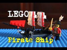 How to Build a LEGO Pirate Ship  #LEGO #tutorial #pirate #ship