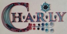Charly, name, wall hanging