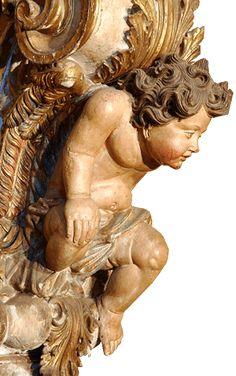 obras de aleijadinho, anjos