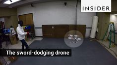 This drone can hold its own in a sword fight. It was developed by Ross Allen and Marco Pavone at Autonomous Systems Laboratory at Stanford University. You ca...