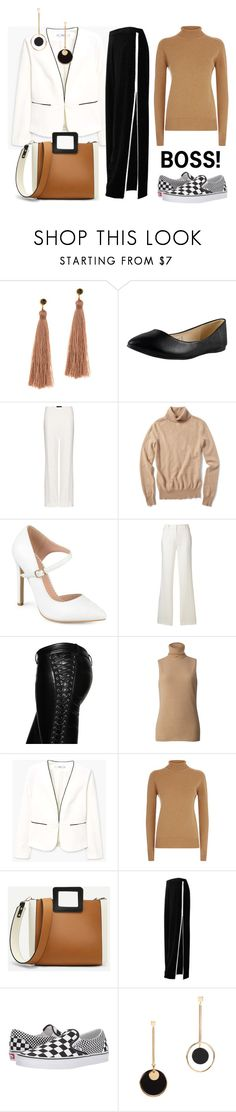 """Boss"" by tess-jr ❤ liked on Polyvore featuring Gorjana, Charlotte Olympia, Haider Ackermann, Neiman Marcus, Journee Collection, Dolce&Gabbana, Faith Connexion, Amanda Wakeley, MANGO and Victoria Beckham"