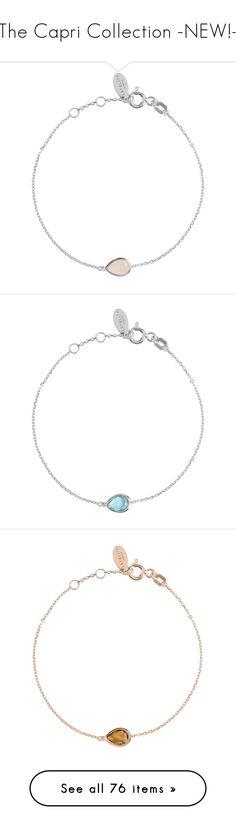 """The Capri Collection -NEW!-"" by latelita ❤ liked on Polyvore featuring Antonio Berardi, Maison Margiela, Brandon Maxwell, jewelry, bracelets, silver jewellery, silver jewelry, rose quartz jewelry, teardrop jewelry and tear drop jewelry"