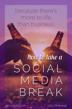 In social media marketing, you sometimes need a break! Solopreneurs and small business owners may find it difficult. Click to blog for tips on social media strategy and blog scheduling.