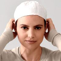 Our Pre-Tied Cancer Scarf is an easy choice for chemo patients who need a soft cotton head wrap. Cancer Treatment, Chemo Caps Pattern, Dry Itchy Scalp, Hair Loss Causes, Hair Loss Women, Cotton Hat, Caps For Women, Womens Scarves, Beanies