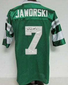 Autographed Ron Jaworski Jersey - PSA DNA P82262 - Autographed NFL Jerseys  by Sports Memorabilia. 6bf8154c2