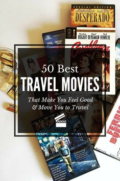 wanderlust movie Movies that make you want to get out of your seat and travel are the best! Here is a list of 50 best travel movies that make you feel good and make you want to travel. Make You Feel, How Are You Feeling, How To Get, Wanderlust Travel, Travel Articles, Travel Photos, Travel Guides, Travel Tips, The Journey