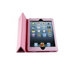 Pink Flip & Folder PU Leather Cover Case Srand for Apple iPad Mini  http://www.ownta.com/index.php?dispatch=products.view_id=93489
