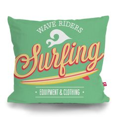Cushion Cover SURFING by Sticky!!!