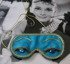 Holly Golightly mask... must make this!