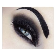 This look is meant for Halloween costume party. You can also watch the... ❤ liked on Polyvore featuring beauty products, makeup, eye makeup, eyes, beauty, party eye makeup, party makeup, night out makeup, holiday party makeup and going out makeup