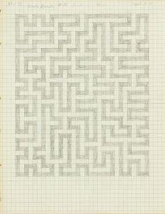 Anni Albers, untitled, 1970.