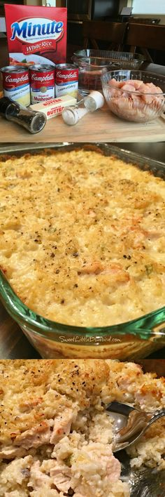 MAMAWS CHICKEN RICE CASSEROLE Wonderful tried and true old school recipe thats big on taste and comfort and a cinch to make Perfect for a busy day potlucks or a specia. Chicken Rice Casserole, Casserole Dishes, Casserole Ideas, Casserole Recipes, New Recipes, Cooking Recipes, Favorite Recipes, Drink Recipes, Recipies