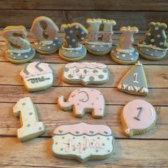 Standing name cookie
