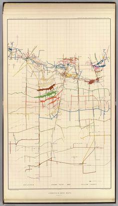 Comstock Mine Maps