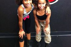 Asia Monet Ray and Charlize Glass