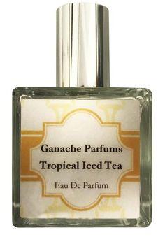 Ganache Parfums Taste of Summer Collection Tropical Iced Tea Handmade Eau de Parfum Spray - Summer 2017