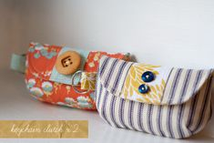I think i will sew up a cute lil clutch like this for myself :)