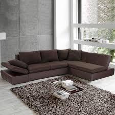 Couch Clovis XXL Braun 300x185 cm mit Hocker und Kissen - wie gehabt ...