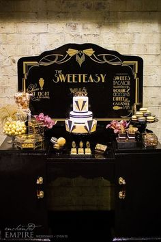 New Party Decorations Gatsby Bridal Shower 45 Ideas Great Gatsby Party, Great Gatsby Motto, Gatsby Themed Party, Great Gatsby Themed Wedding, The Great Gatsby, Harlem Nights Theme Party, O Grande Gatsby, Roaring 20s Party, Roaring Twenties