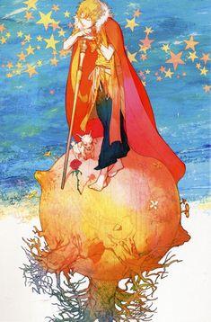 The Little Prince art by Kurahana Chinatsu | Sharpest Rose