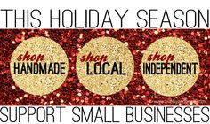 Why I'm Supporting Small Businesses This Holiday Season ( Free Banners For You!)