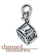 Charmed Memories St. Jude Dangle Charm Sterling Silver zI6zUVH