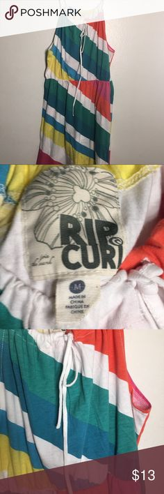 RIP CURL beach mini dress. Size MD Great for over the bathing suit Rip Curl Dresses Mini