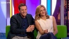 Gabby Logan Trousers on The One Show by J Crew